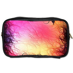 Floral Frame Surrealistic Toiletries Bags 2-Side