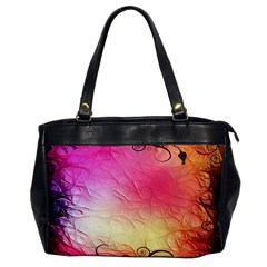 Floral Frame Surrealistic Office Handbags