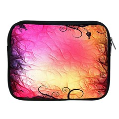 Floral Frame Surrealistic Apple iPad 2/3/4 Zipper Cases