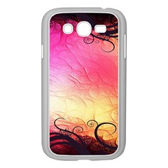Floral Frame Surrealistic Samsung Galaxy Grand Duos I9082 Case (white)