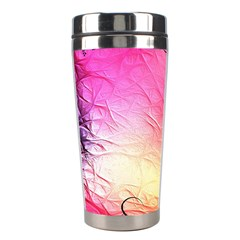 Floral Frame Surrealistic Stainless Steel Travel Tumblers