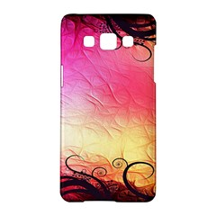 Floral Frame Surrealistic Samsung Galaxy A5 Hardshell Case