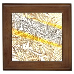 Abstract Composition Digital Processing Framed Tiles