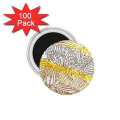 Abstract Composition Digital Processing 1.75  Magnets (100 pack)