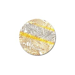 Abstract Composition Digital Processing Golf Ball Marker