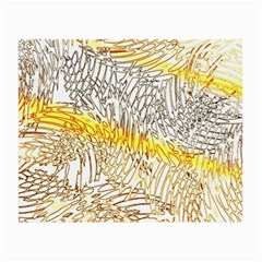 Abstract Composition Digital Processing Small Glasses Cloth (2 Side)