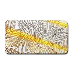 Abstract Composition Digital Processing Medium Bar Mats