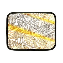 Abstract Composition Digital Processing Netbook Case (Small)