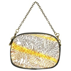 Abstract Composition Digital Processing Chain Purses (One Side)