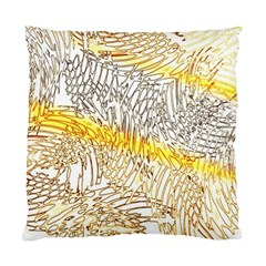Abstract Composition Digital Processing Standard Cushion Case (two Sides)