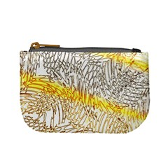 Abstract Composition Digital Processing Mini Coin Purses