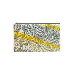 Abstract Composition Digital Processing Cosmetic Bag (small)