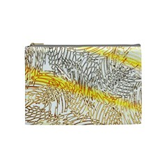 Abstract Composition Digital Processing Cosmetic Bag (medium)