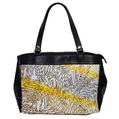 Abstract Composition Digital Processing Office Handbags