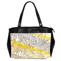 Abstract Composition Digital Processing Office Handbags (2 Sides)