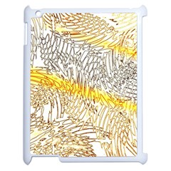 Abstract Composition Digital Processing Apple Ipad 2 Case (white)