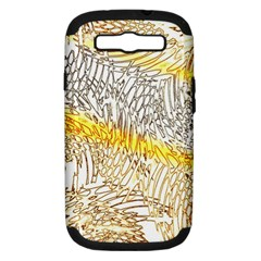 Abstract Composition Digital Processing Samsung Galaxy S Iii Hardshell Case (pc+silicone)