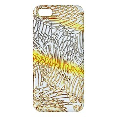 Abstract Composition Digital Processing Apple Iphone 5 Premium Hardshell Case