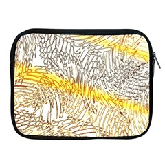 Abstract Composition Digital Processing Apple Ipad 2/3/4 Zipper Cases