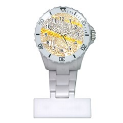 Abstract Composition Digital Processing Plastic Nurses Watch