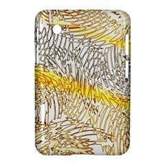 Abstract Composition Digital Processing Samsung Galaxy Tab 2 (7 ) P3100 Hardshell Case