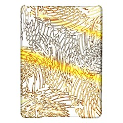 Abstract Composition Digital Processing iPad Air Hardshell Cases