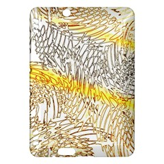 Abstract Composition Digital Processing Kindle Fire HDX Hardshell Case
