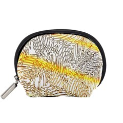 Abstract Composition Digital Processing Accessory Pouches (Small)