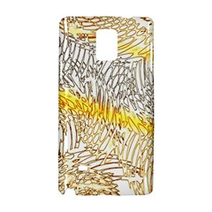 Abstract Composition Digital Processing Samsung Galaxy Note 4 Hardshell Case