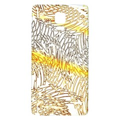 Abstract Composition Digital Processing Galaxy Note 4 Back Case