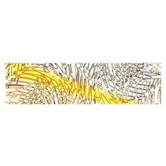 Abstract Composition Digital Processing Satin Scarf (Oblong)