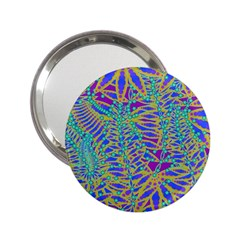 Abstract Floral Background 2.25  Handbag Mirrors