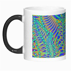 Abstract Floral Background Morph Mugs