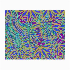 Abstract Floral Background Small Glasses Cloth (2-Side)