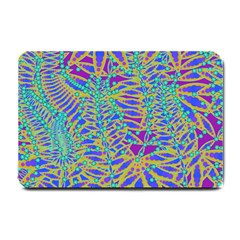 Abstract Floral Background Small Doormat