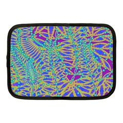 Abstract Floral Background Netbook Case (Medium)