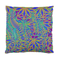 Abstract Floral Background Standard Cushion Case (One Side)