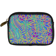 Abstract Floral Background Digital Camera Cases