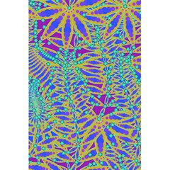Abstract Floral Background 5.5  x 8.5  Notebooks