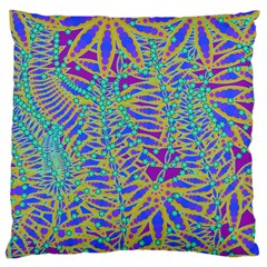 Abstract Floral Background Large Cushion Case (One Side)