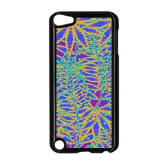 Abstract Floral Background Apple Ipod Touch 5 Case (black)