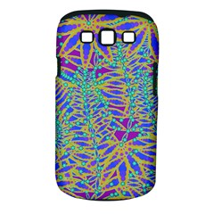 Abstract Floral Background Samsung Galaxy S Iii Classic Hardshell Case (pc+silicone)