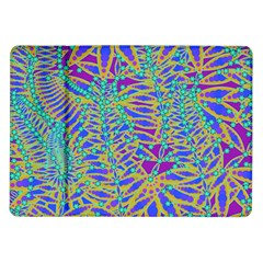 Abstract Floral Background Samsung Galaxy Tab 10.1  P7500 Flip Case