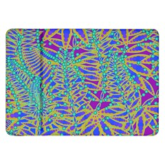 Abstract Floral Background Samsung Galaxy Tab 8 9  P7300 Flip Case