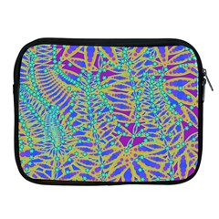 Abstract Floral Background Apple iPad 2/3/4 Zipper Cases