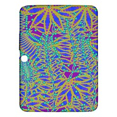 Abstract Floral Background Samsung Galaxy Tab 3 (10.1 ) P5200 Hardshell Case