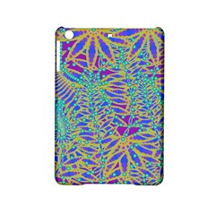Abstract Floral Background iPad Mini 2 Hardshell Cases