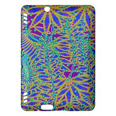 Abstract Floral Background Kindle Fire Hdx Hardshell Case