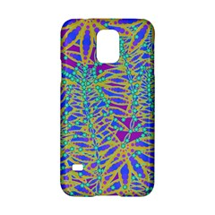 Abstract Floral Background Samsung Galaxy S5 Hardshell Case