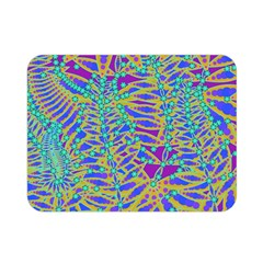Abstract Floral Background Double Sided Flano Blanket (Mini)